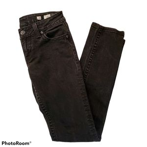 Miss Me black skinny leg jeans size 28